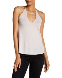 Michelle By Comune | Strappy Knit Cami | Lyst