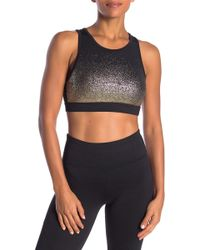 C&C California - Metallic Ombre Sports Bra - Lyst