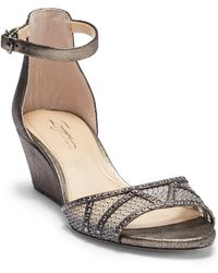 Imagine Vince Camuto - Joan Ankle Strap Wedge Sandal - Lyst