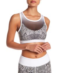 X By Gottex - Ombre Mesh Sports Bra - Lyst