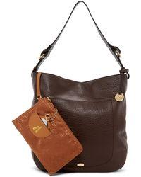 Lodis - Borego Dortha Rfid Leather Hobo Bag - Lyst