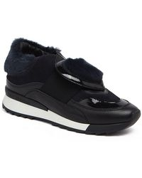 Love Moschino - Round Toe Fabric Sneaker - Lyst
