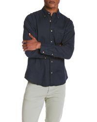 Tailor Vintage - Linen Blend Regular Fit Shirt - Lyst