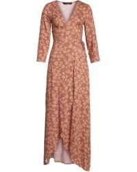 Knot Sisters - Monica Wrap Dress - Lyst