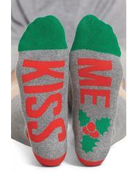 Sockart   Kiss Me Crew Socks   Lyst