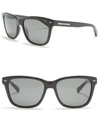 Ermenegildo Zegna 57mm Square Sunglasses