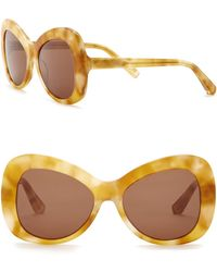 Elizabeth and James - Palmer 54mm Butterfly Sunglasses - Lyst