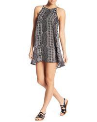 Rip Curl - Black Sands Geo Print Dress - Lyst