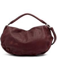 Liebeskind Berlin - Thabala Leather Washed Shoulder Bag - Lyst