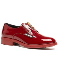 Love Moschino - Top Zip Slip-on Loafer - Lyst