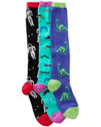 Socksmith - Graphic Socks - Pack Of 3 - Lyst