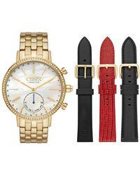 Chaps - Whitney Interchangeable Crystal Bracelet Hybrid Smart Strap Watch, 42mm - Lyst