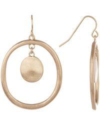 The Sak - Doorknocker Dangle Earrings - Lyst