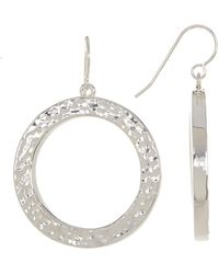Simon Sebbag - Sterling Silver Open Halo Drop Earrings - Lyst