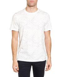 Ted Baker - Woof Batik Print T-shirt - Lyst