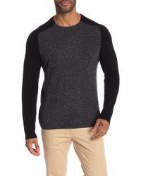 Autumn Cashmere - Two Color Saddle Shoulder Sweater - Lyst
