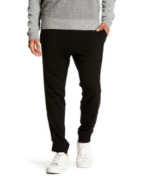 Velvet By Graham & Spencer - French Terry Knit Drawstring Sweatpants - Lyst