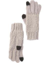 Michael Stars - Stardust Knit Gloves - Lyst