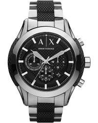 Armani Exchange - Men's Zulu Bracelet Watch, 47mm - Lyst