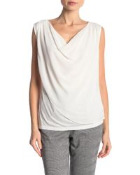 Velvet By Graham & Spencer - Connie Chiffon Cowl Neck Top - Lyst