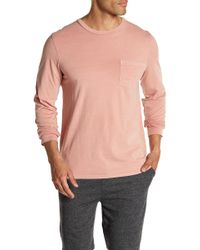 Threads For Thought - Long Sleeve Pocket Tee - Lyst