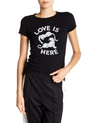 Pam & Gela - Love Is Here Graphic Tee - Lyst