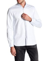 The Kooples   Contrast Piping Classic Fit Dress Shirt   Lyst