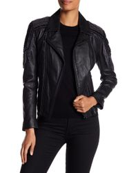 Doma Leather | Moto Jacket With Embroidery | Lyst