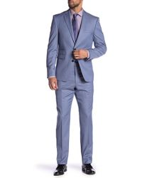 Vince Camuto - Stripe Wool Slim Fit 2-piece Suit - Lyst