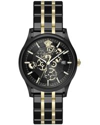 Versace - Men's Aiakos Chronograph Bracelet Watch, 44mm - Lyst