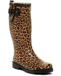 c11ee9ed8980 Chooka - Lavish Leopard Waterproof Rain Boot - Lyst