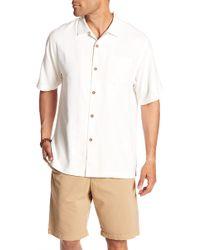 Tommy Bahama - Sips Ahoy Short Sleeve Original Fit Silk Shirt - Lyst