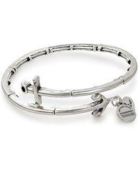 ALEX AND ANI - Anchor Wrap Bracelet - Lyst