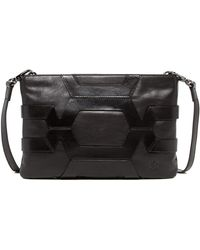 Christopher Kon - Caged Leather Crossbody Clutch - Lyst