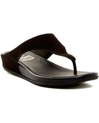 219c688d6 Fitflop - Banda Supercomff Cushioned Perforated Sandal - Lyst