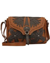 Kensie - Gianna Faux Leather Crossbody Bag - Lyst