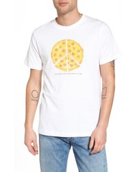 Wesc - Max Peace Pizza Graphic T-shirt - Lyst
