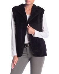 Love, Fire - Woobie Faux Fur Sweater Vest - Lyst