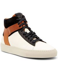 Frye - Owen High Top Leather Trainer - Lyst