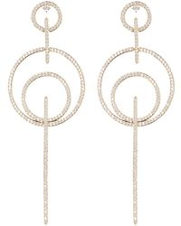 3169fdca3 Nadri Georgian Cz Chandelier Earrings - Lyst