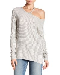 Pam & Gela - Cutout Neck Top - Lyst