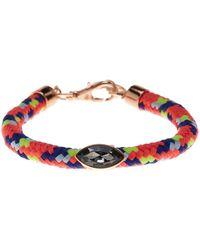 Rebecca Minkoff - Stone Climbing Rope Bracelet - Lyst