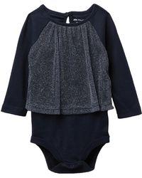Joe Fresh - Tulle Bodysuit (baby Girls) - Lyst