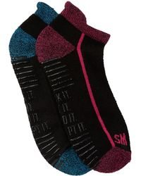 Steve Madden - Athletic Low Cut Barre Socks - Pack Of 2 - Lyst