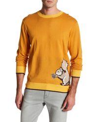 Loft 604 - Squirrel Graphic Print Knit Jumper - Lyst