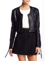 Linea Pelle - The Looker Genuine Leather Jacket - Lyst
