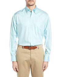 Peter Millar - Crown Soft Gingham Regular Fit Sport Shirt - Lyst