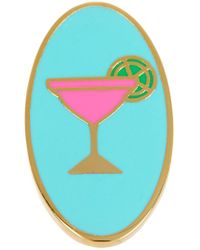 Ariella Collection - Oval Martini Enamel Ring - Lyst