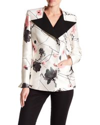Thomas Wylde - Admiral Floral Double Breasted Blazer - Lyst