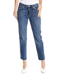 Free People - Slim Fit Boyfriend Jeans - Lyst